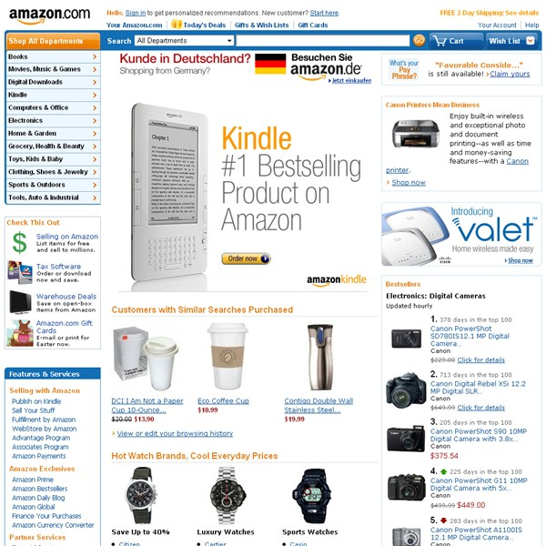 Websites: Amazon