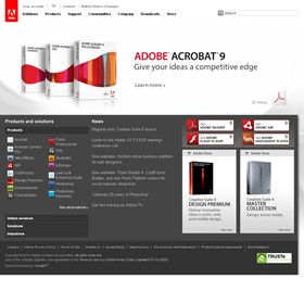 Websites: Adobe